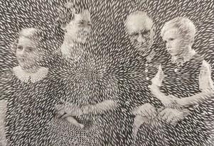 """Utställning """"Efterminne"""" av Elisabeth Moritz"""