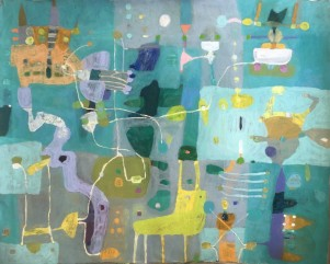 26 juni–14 juli – Anita Larsson, måleri