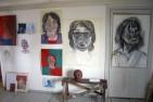 Porträtt – teckning & måleri