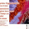Sigridur Eggertsdottir – Utställning 18/11-9/12