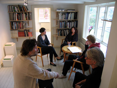 Konstiblioteket, numera flyttat Konsthallen Foto: Kåre Holgerson
