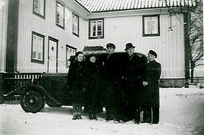 Kulturmagasinet, familjen Andrén  ca 1940
