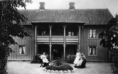 Mangårdsbyggnaden på nuv. Kulturmagasinet/galleriet