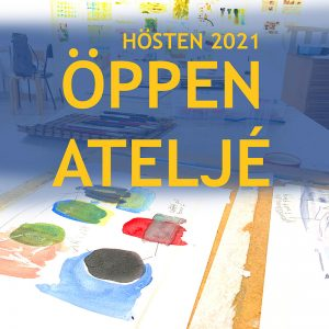 Öppen ateljé hösten 2021